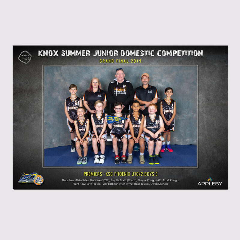 Knox Domestic Team Print Only